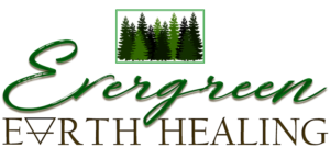 Evergreen Earth Healing initial logo design concept #4
