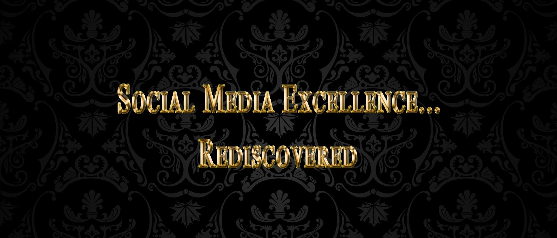 social media header hover