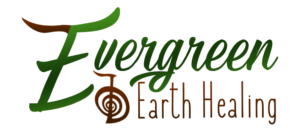 Evergreen Earth Healing initial logo design concept #1