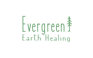 Evergreen Earth Healing initial logo design concept #2